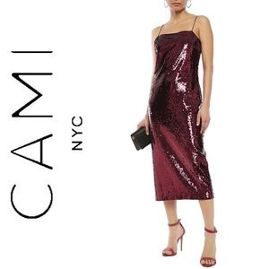 • CAMI NYC Midi Dress